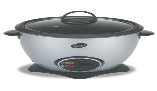 microwave rice cooker consists