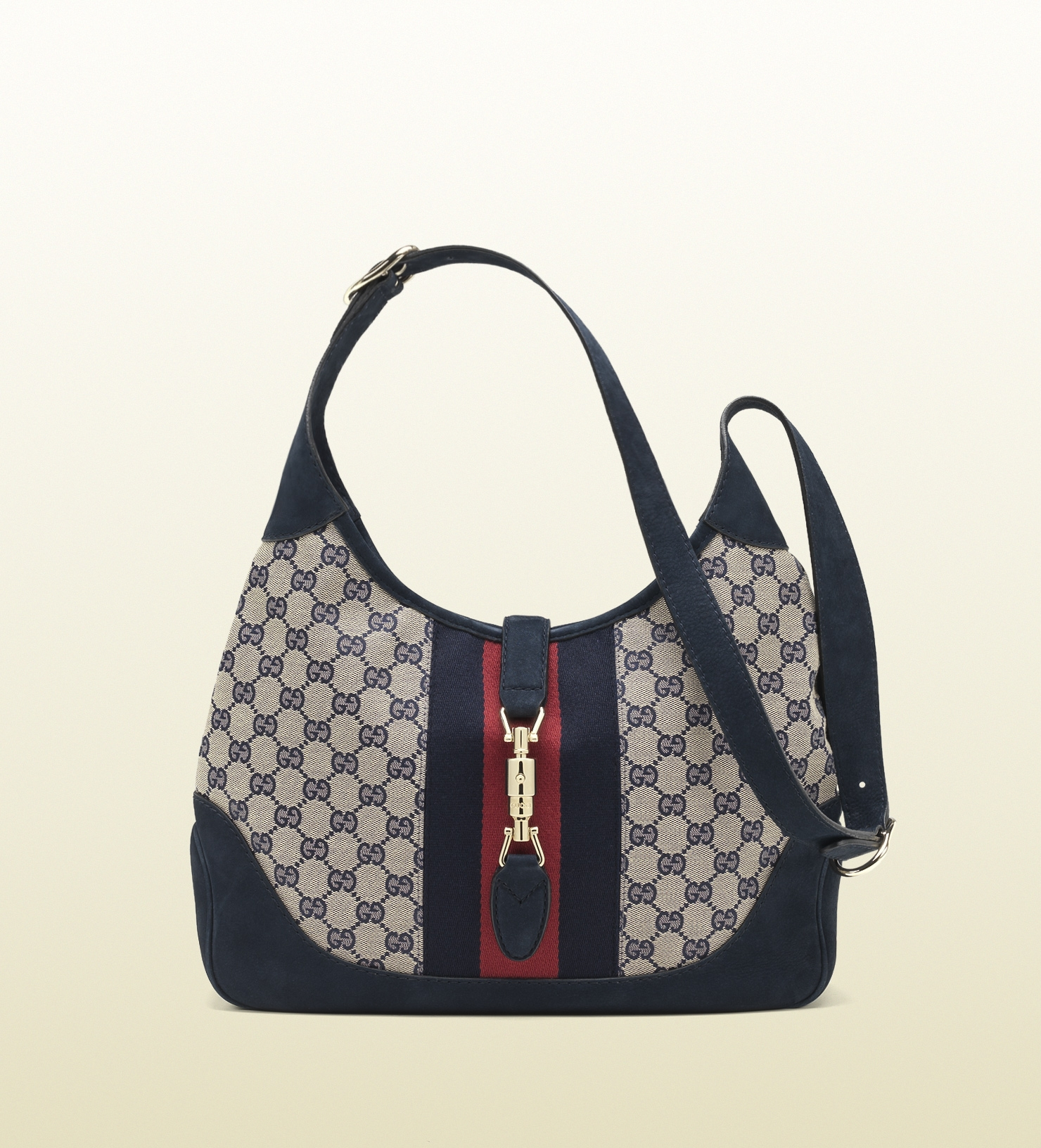 Jackie Original Gg Canvas Shoulder Bag Price 65