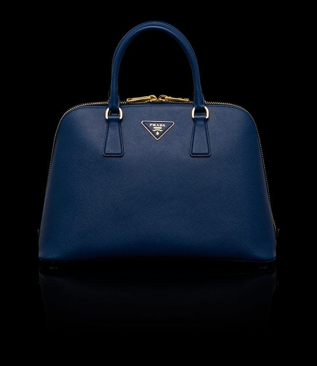 Buy Prada BL0836 NZV F0016 Cornflower Blue Top Handle Bag, Price ...