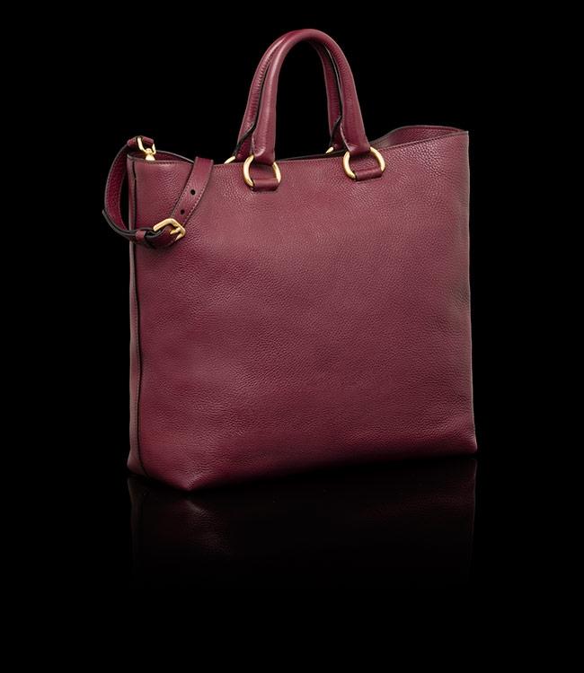 authentic prada handbags discount - Prada tote burgundy