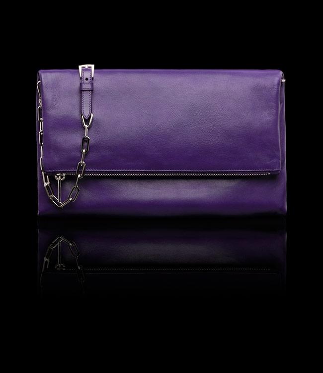 Buy Prada BT0973 ASK F0030 Purple Clutch Bag, Price, Reviews ...
