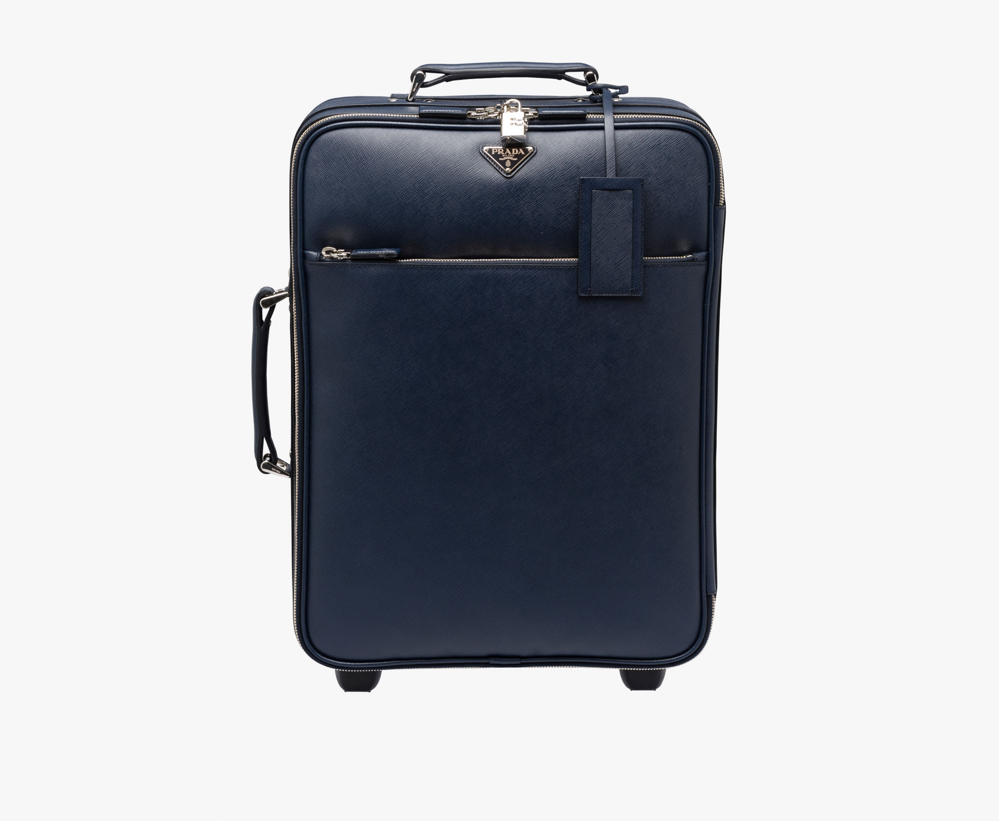 Buy Prada Trolley Bag Baltic Blue [2VQ030 9Z2 F0216 V OOK], Price ... - prada pouch baltic blue